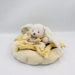 Doudou et compagnie lapin Bonnie étoile jaune carambole