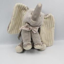 Doudou Dumbo l'éléphant gris DISNEY NICOTOY