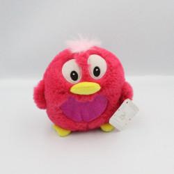 Doudou peluche oiseau rose Bibiz OH STUDIO D&C