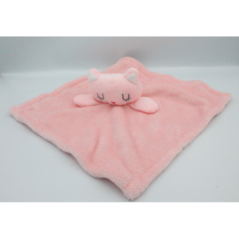 Doudou plat chat rose Early PRIMARK