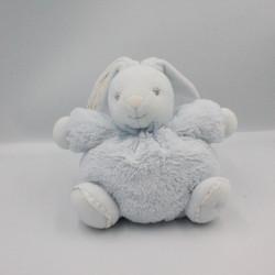 Doudou lapin bleu beige blanc Bao et Wapi NOUKIE'S