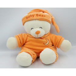 Doudou ours Baby Bear orange lune GIPSY