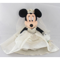Peluche Minnie robe rose à pois DISNEY NICOTOY