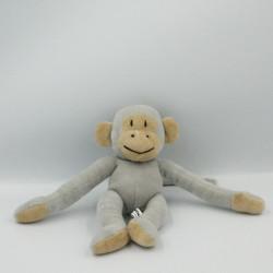 Doudou singe gris Popi NOUNOURS 2005