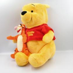 Grande peluche Winnie l'ourson avec tigrou DISNEY NICOTOY