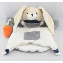 Doudou et Compagnie lapin seraphin Doudou plat Marionnette