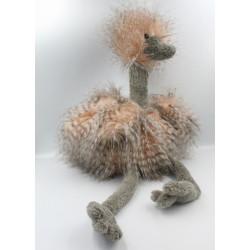 Peluche oiseau Odette l'autruche JELLYCAT Grand Modèle