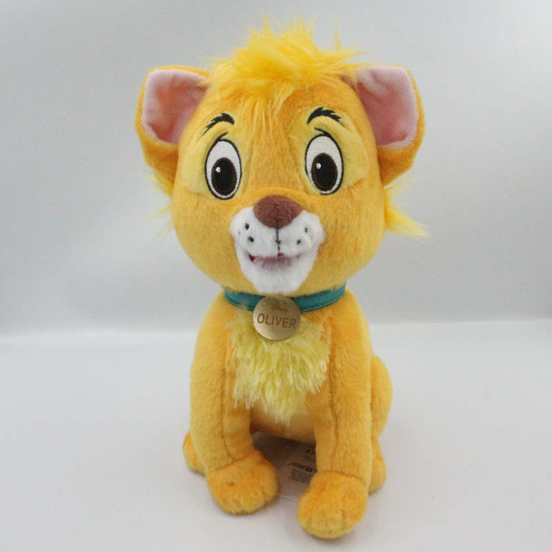 Peluche chat Oliver & Compagnie DISNEY STORE