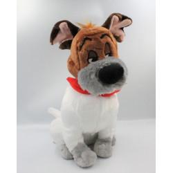 Peluche chien Roublard Dodger Oliver & Compagnie DISNEY