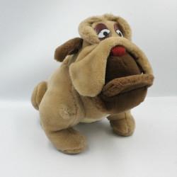 Peluche chien Bouledog Francis Oliver & Compagnie WALT DISNEY 1989
