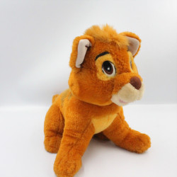 Peluche chat roux Oliver & Compagnie DISNEY