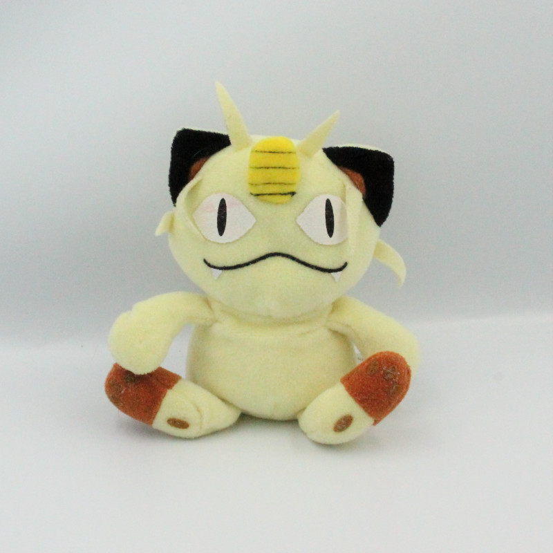 Peluche chat Miaouss Pokemon creatures NINTENDO