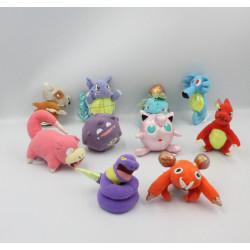 Lot de 10 Peluches miniatures Pokemon NINTENDO