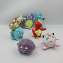 Lot de 7 Peluches miniatures Pokemon NINTENDO