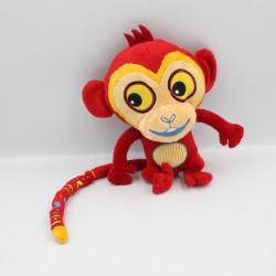 Peluche singe rouge Tinga Tinga BANDAI