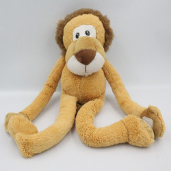 Doudou lion beige marron PIA