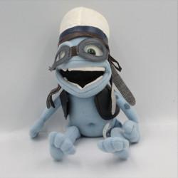 Peluche grenouille bleu Crazy Frog