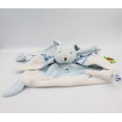 Doudou et compagnie plat lapin bleu tendresse TATOO