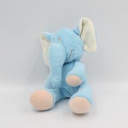 Doudou éléphant bleu TOTAL KINGSWAY