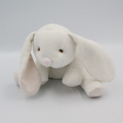 Doudou et compagnie lapin blanc rose