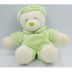 Doudou ours Baby Bear vert lune GIPSY