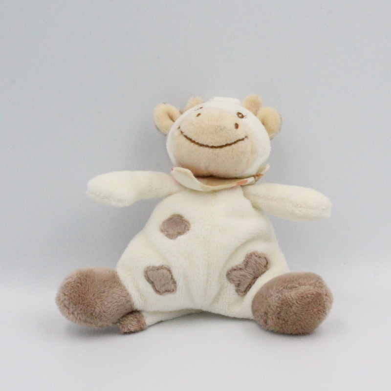 Mini Doudou attache tétine vache daisy  JOLLYBABY  13 cm