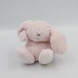 Mini Doudou lapin rose TARTINE ET CHOCOLAT