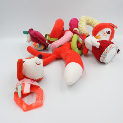 Spirale d'activités doudou renard rouge Alice LILLIPUTIENS