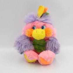 Peluche Popples oiseau perroquet 1988 MATTEL