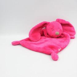 Doudou plat lapin rose fluo SIMBA TOYS KIABI