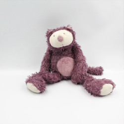 Doudou chat violet Les Zazous Mia MOULIN ROTY