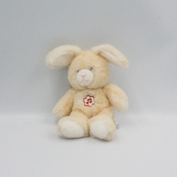 Doudou musical lapin beige GIPSY