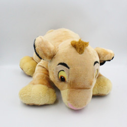 Grande peluche le roi lion Simba Kovu couché DISNEY