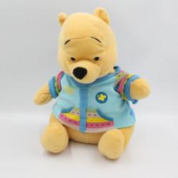 Peluche Winnie l'ourson pull bleu DISNEY