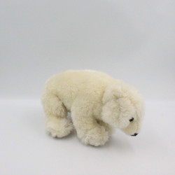 Peluche ours polaire blanc FRANCE LOISIRS