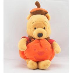 Peluche Winnie sorciére sur son balai Halloween Collection Disney