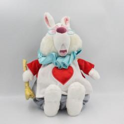 Peluche lapin blanc Alice aux pays des merveilles DISNEY STORE