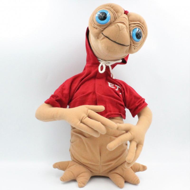 Peluche E.T. l' extra terrestre sweat rouge UNIVERSAL STUDIOS 40 cm