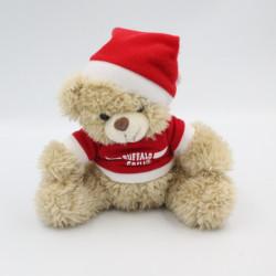 Doudou ours beige Noël BUFFALO GRILL