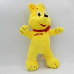 Doudou peluche ours jaune HARIBO