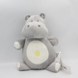 Doudou hippopotame gris...