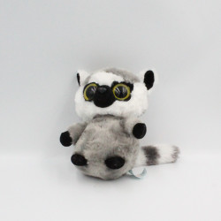 Doudou peluche lémurien gris YOOHOO