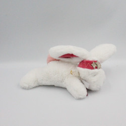 Doudou et compagnie lapin blanc rose bandeau Petite Etoile Tutti Frutti