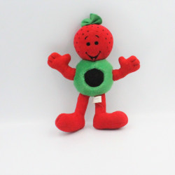Ancienne peluche fraise rouge CASINO