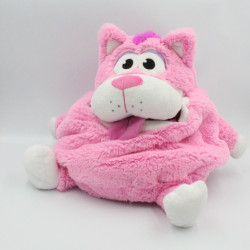Peluche sac range pyjama chat rose Tummy Stuffers JAY PLAY