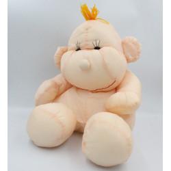 Peluche Puffalump poupée bébé rose en toile The wallace LITTLE FRIENDS
