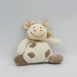 Mini Doudou vache daisy blanche tachetée JOLLYBABY