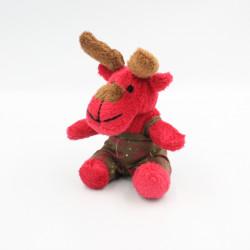 Petit Doudou elan cerf renne rouge YVES ROCHER
