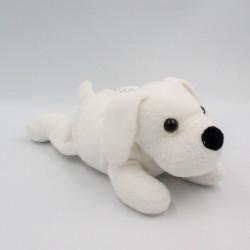 Doudou chien blanc SUPER TOYS