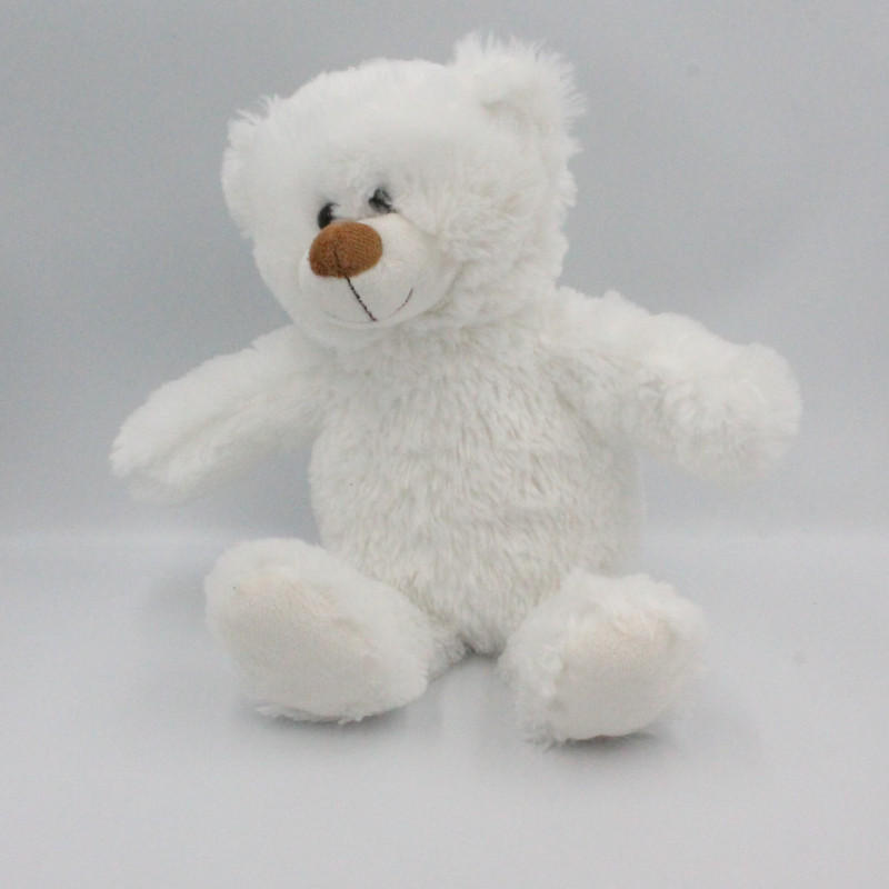 Peluche ours blanc lumineux GIFI